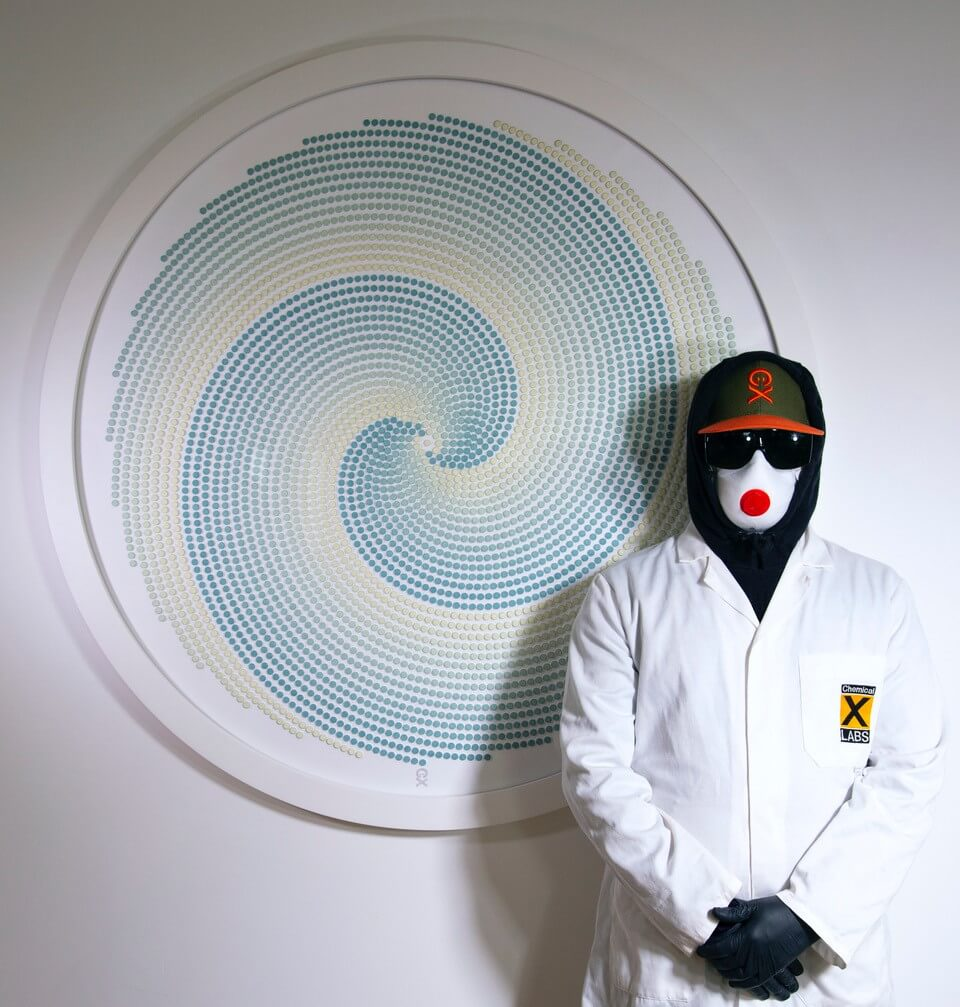 """Chemical X con su obra """"Rush"""". Imagen: Mixmag"""