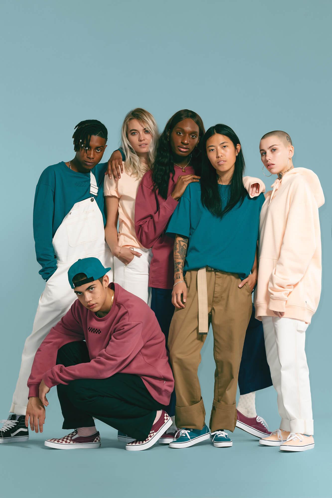 """""""Color Theory"""", la colección unisex de Vans que celebra la diversidad"""