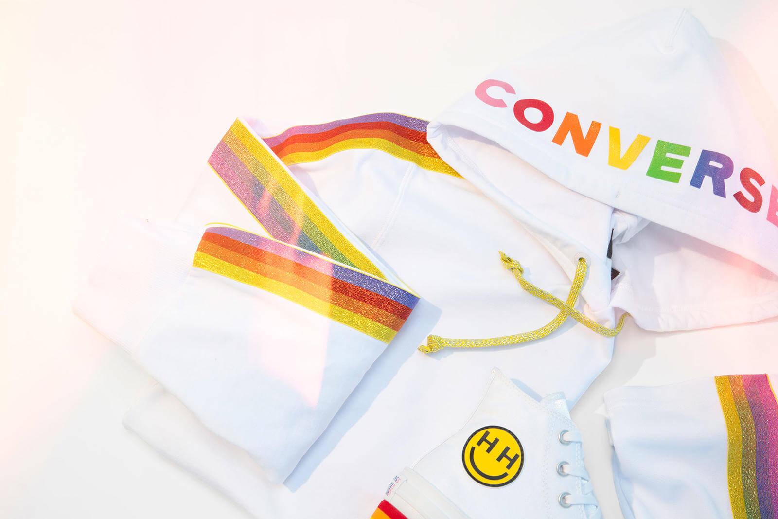 Converse x Pride 2018 by Miley Cyrus. Fotografía: Converse