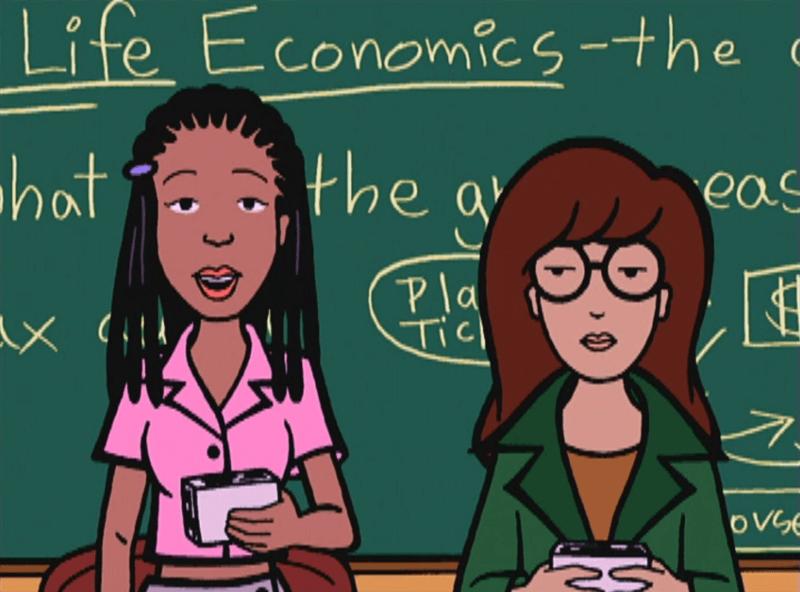 """Todo lo que necesitas saber acerca del nuevo reboot de """"Daria"""" en MTV"""