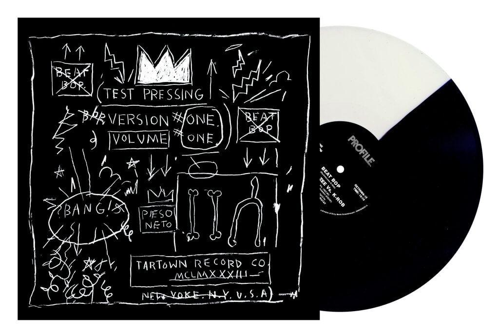 """El single """"Beat Bop"""" en su reedición de 12''. Imagen: Get On Down"""