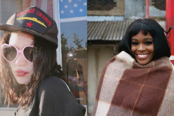 Grimes y Azealia Banks. Fotografía: Grimes, Intagram/Matt sukkar