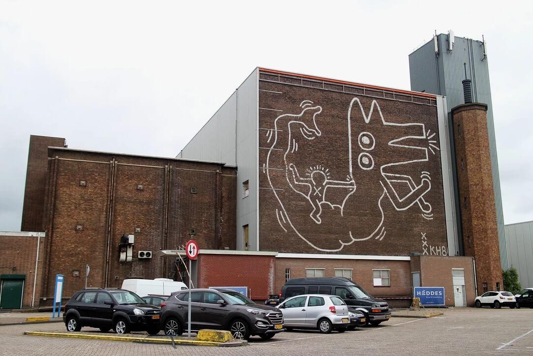 El mural finalmente recuperado. Fotografía: ArtNews