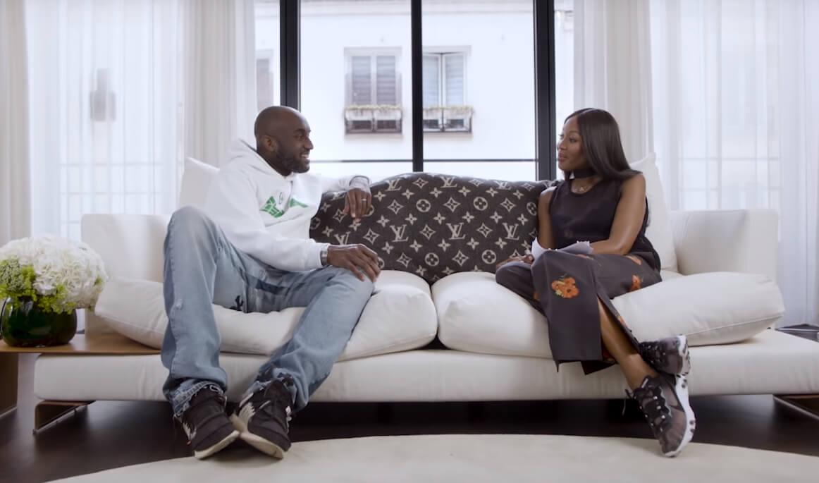 5 lecciones de creatividad y estilo salidas de la épica entrevista de Virgil Abloh y Naomi Campbell