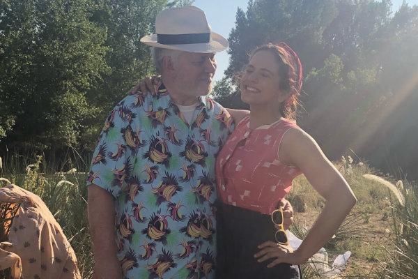 Pedro Almodóvar y Rosalía. Fotografía: Instagram/Rosalía
