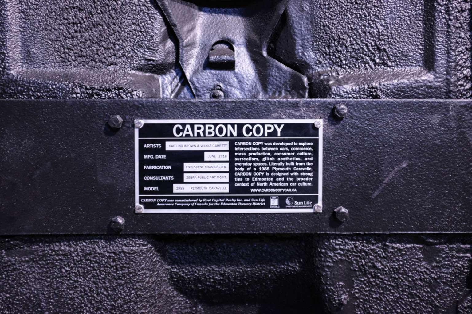 Carbon Copy. Fotografía: Caitlind r.c. Brown y Wayne Garrett