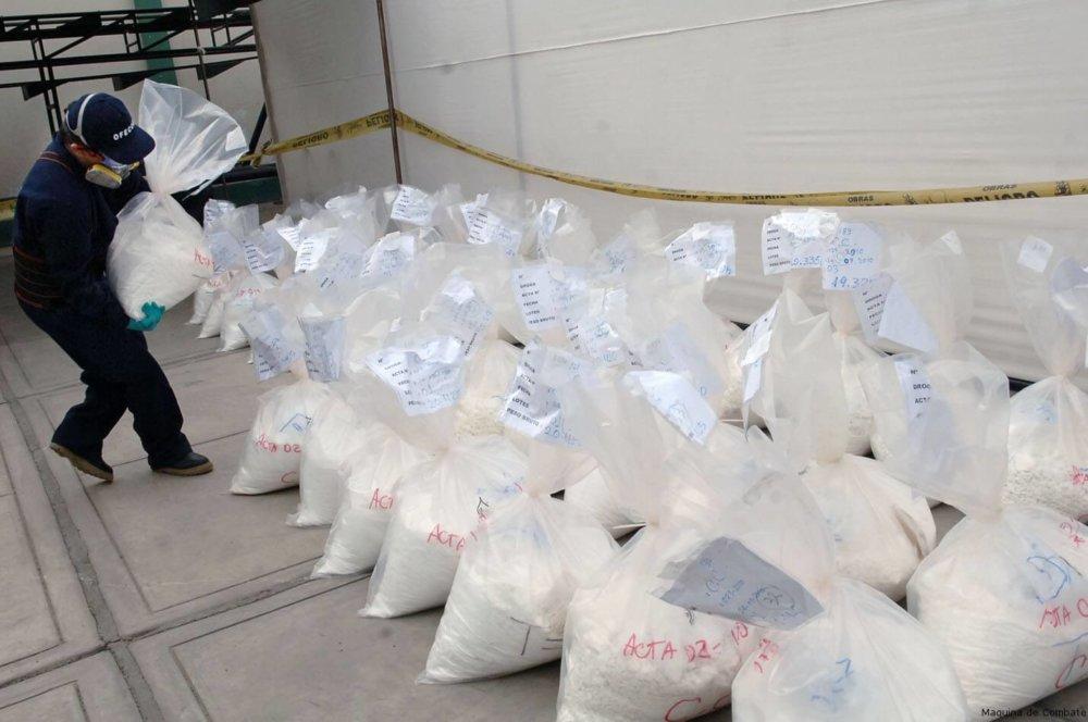 Alijo de cocaína. Fotografía: TN.ar