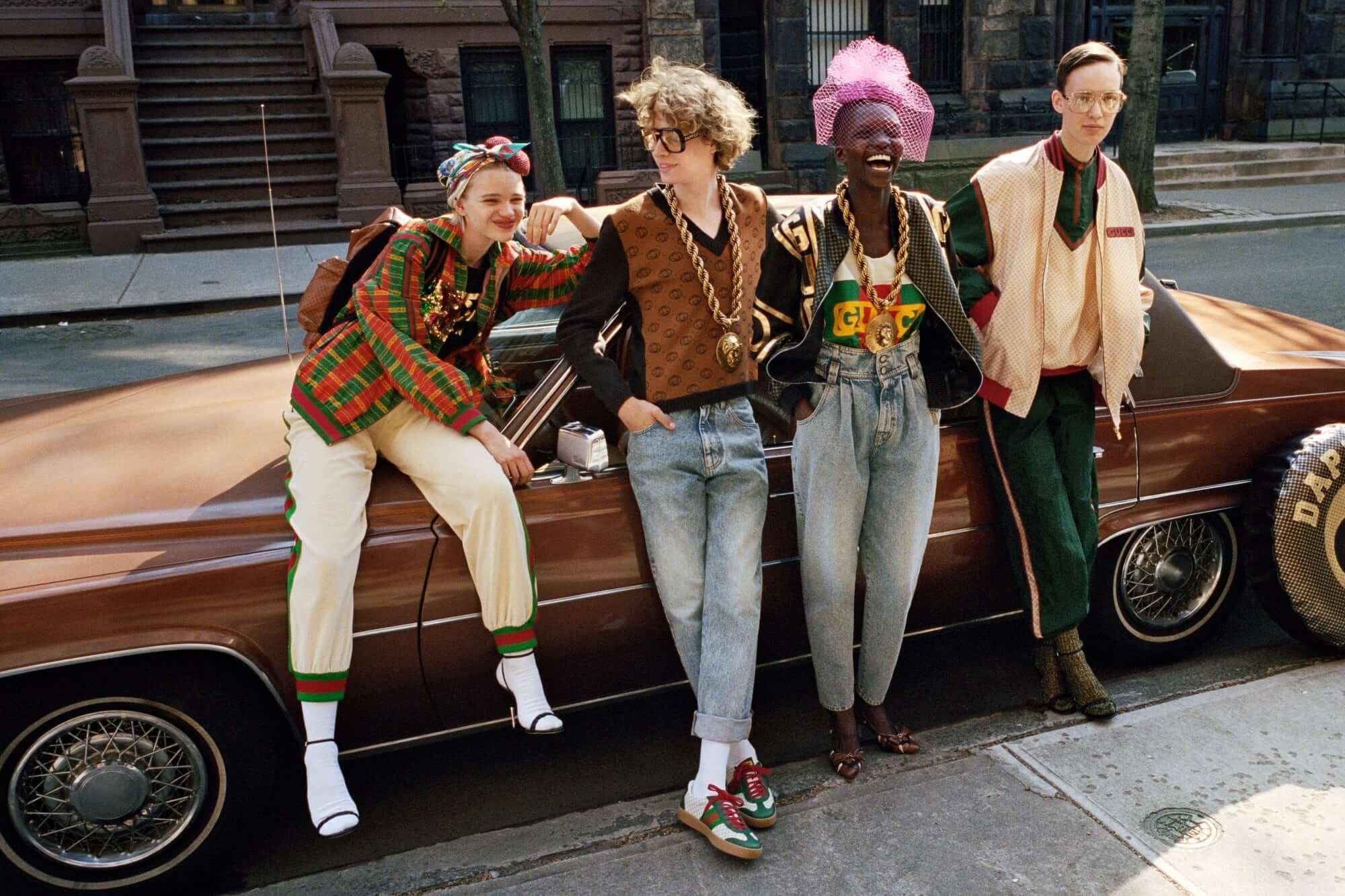 Ghetto fabulous! La colección de Dapper Dan para Gucci le pone glam a las calles de Harlem