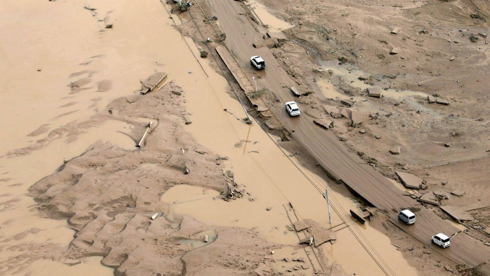 Estas han sido las inundaciones más graves acontecidas en Japón en los últimos 35 años. Fotografía: Reuters