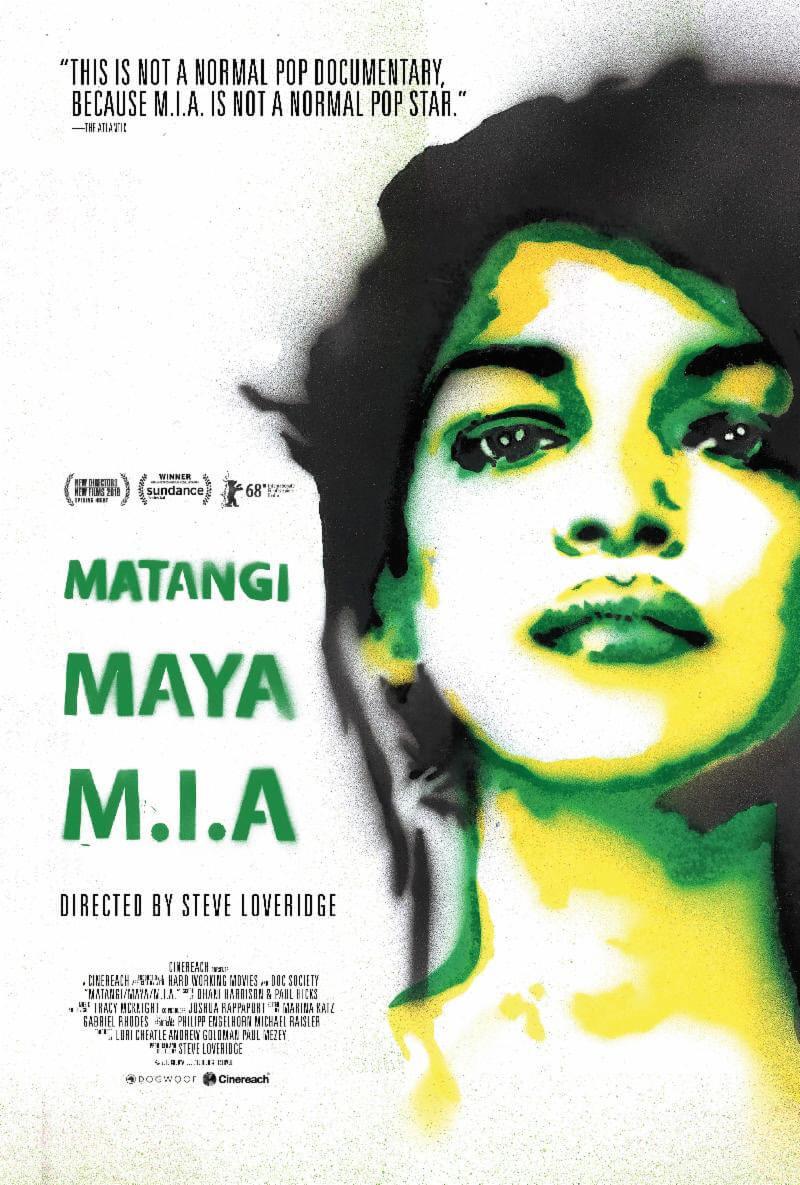 Poster del documental Matangi / Maya / M.I.A. Fotografía: Press