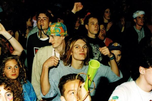 Rave en 1990. Imagen: 6AM