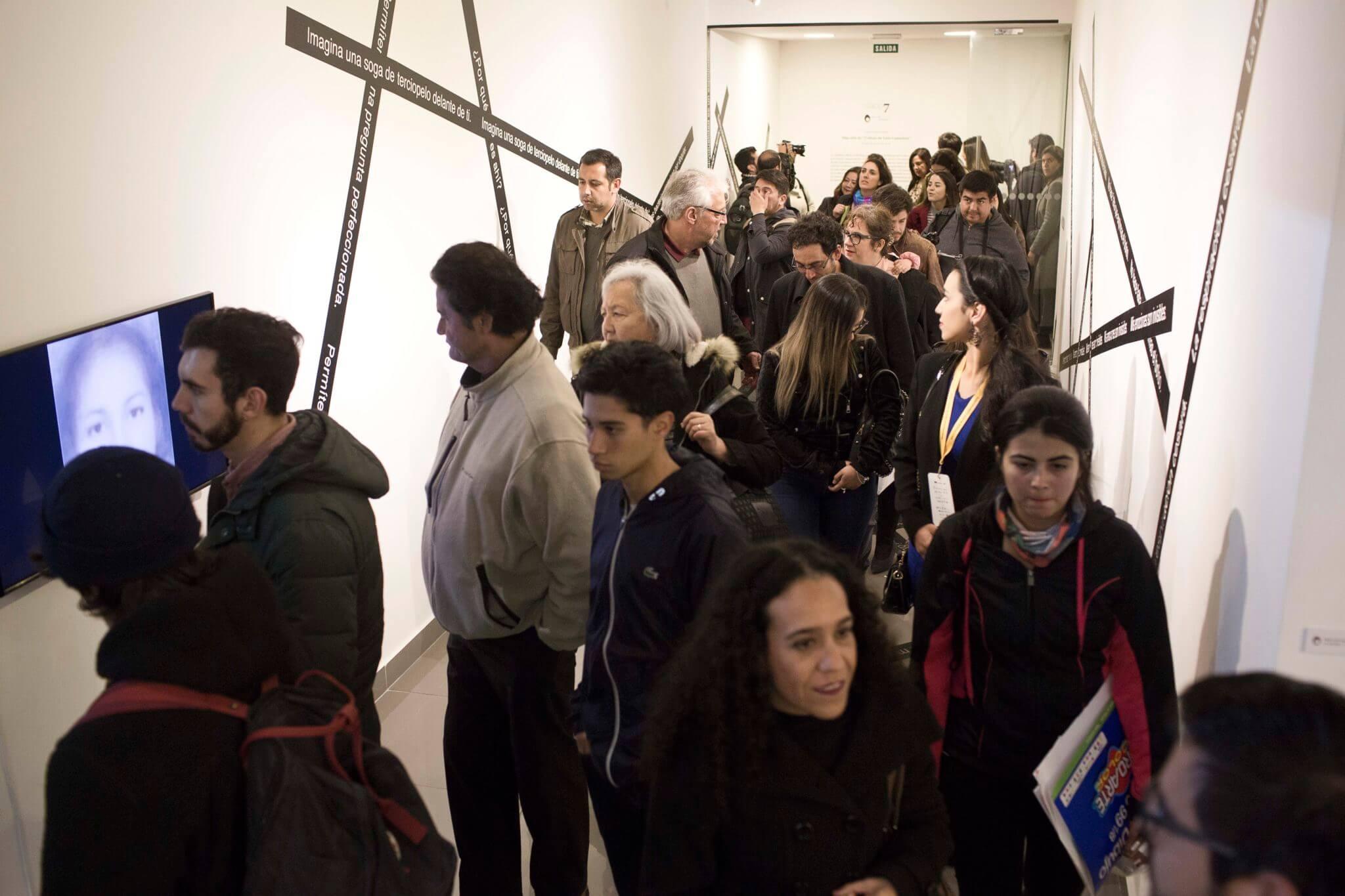 Parte de la inauguración de SACO7 del día de hoy. Fotografía: Cortesía SACO7