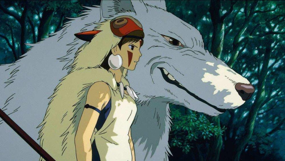 Princess Mononoke. Imagen: Studio Ghibli