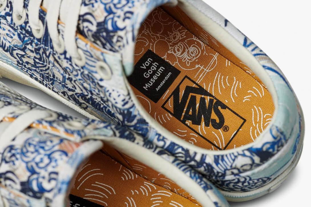 Vincent Van Gogh x Vans. Fotografía: Vans/Van Gogh Museum