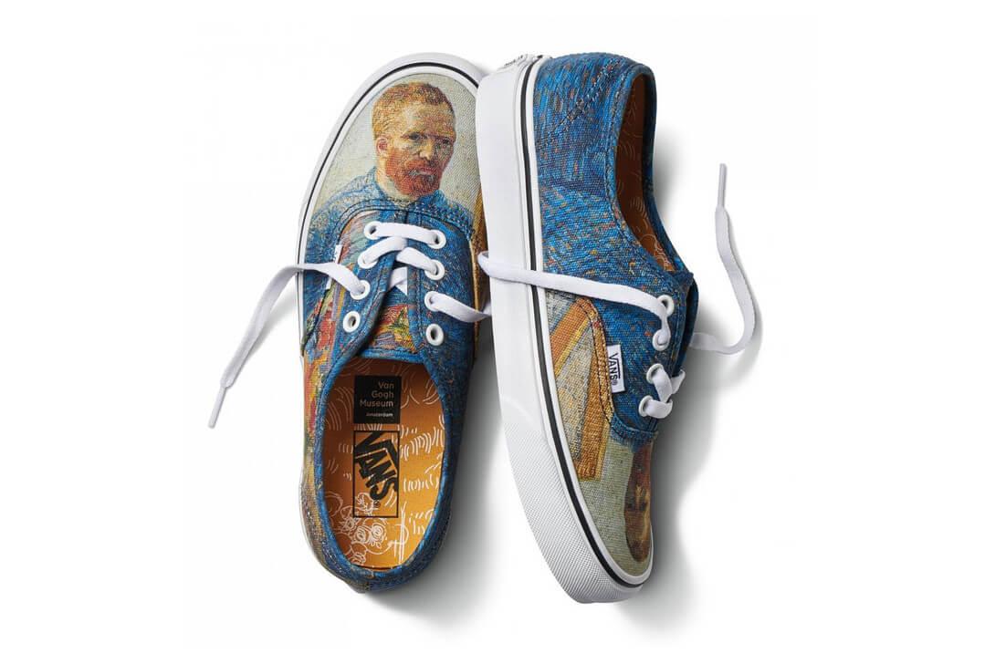 Vincent Van Gogh x Vans: una colección skate al óleo que lleva el arte a la calle