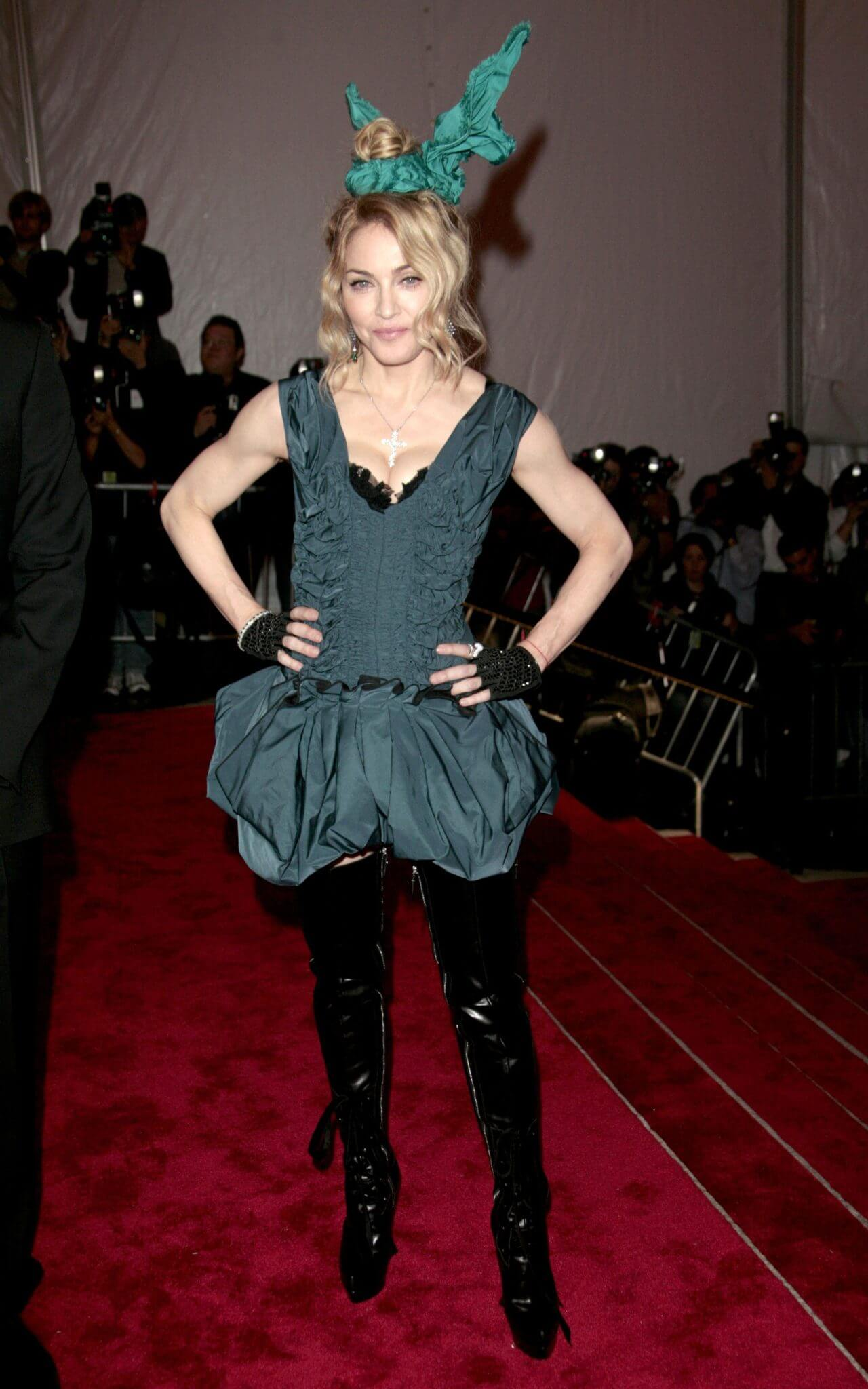 Madonna en la Met Gala 2009. Fotografía: Kevin Winter/Getty Images