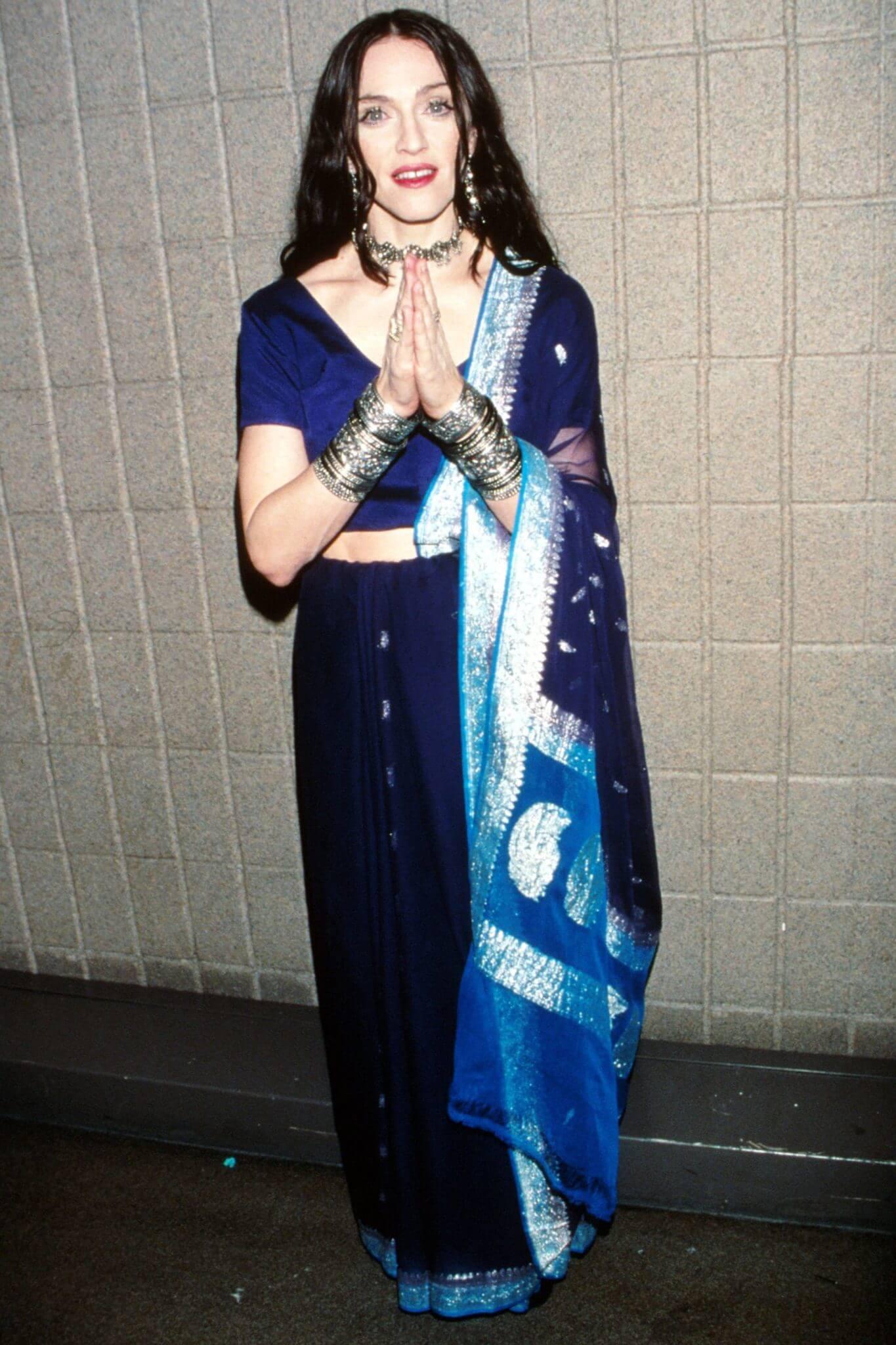 Madonna en los VH1 fashion Awards de 1998. Fotografía: Getty Images