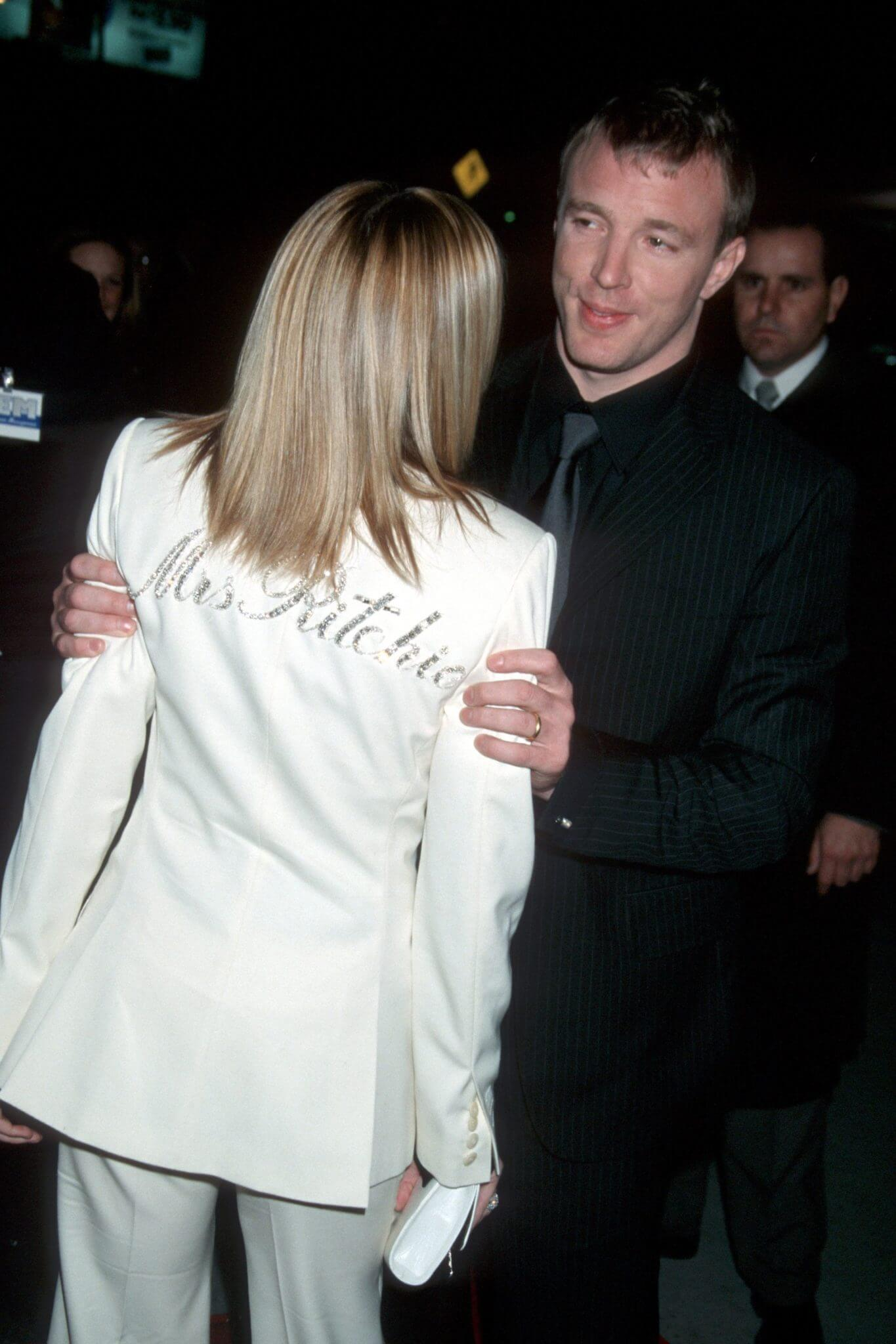 "Madonna y Guy Ritchie en la premiere de ""Snatch"". Fotografía: Getty"