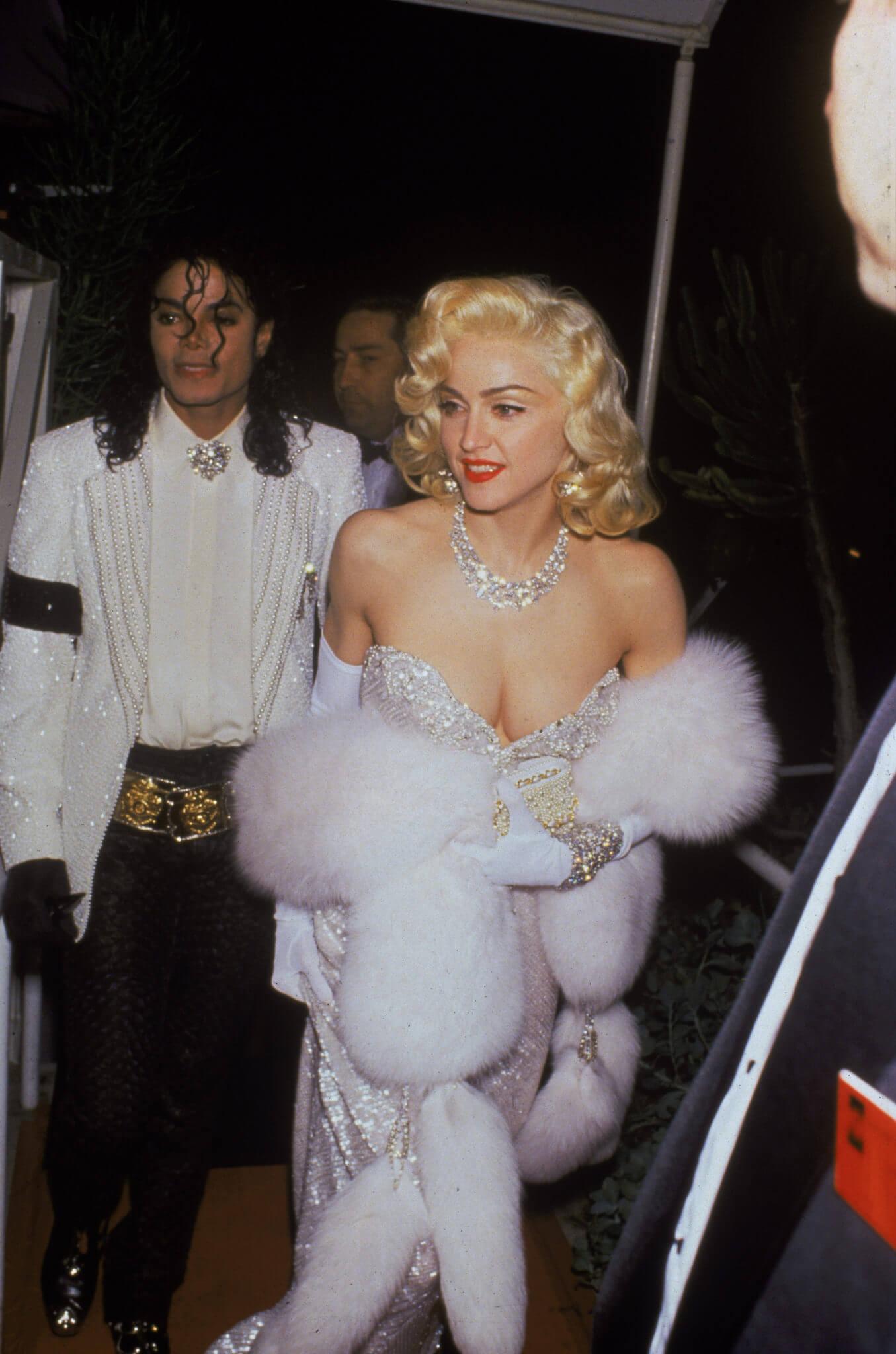 Micheal Jackson y Madonna en los Oscar de 1991. Fotografía: David McGough/DMI/Time & Life Pictures/Getty Images