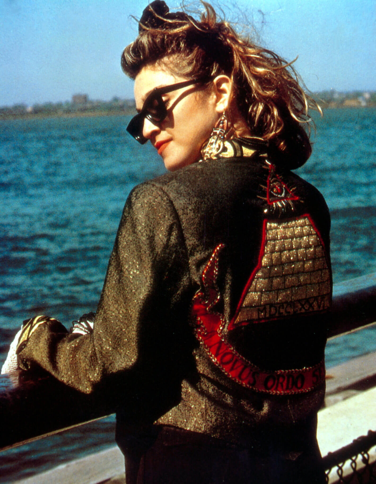 "Madonna en la película ""Desperately Seeking Susan"". Fotografía: Orion Pictures"