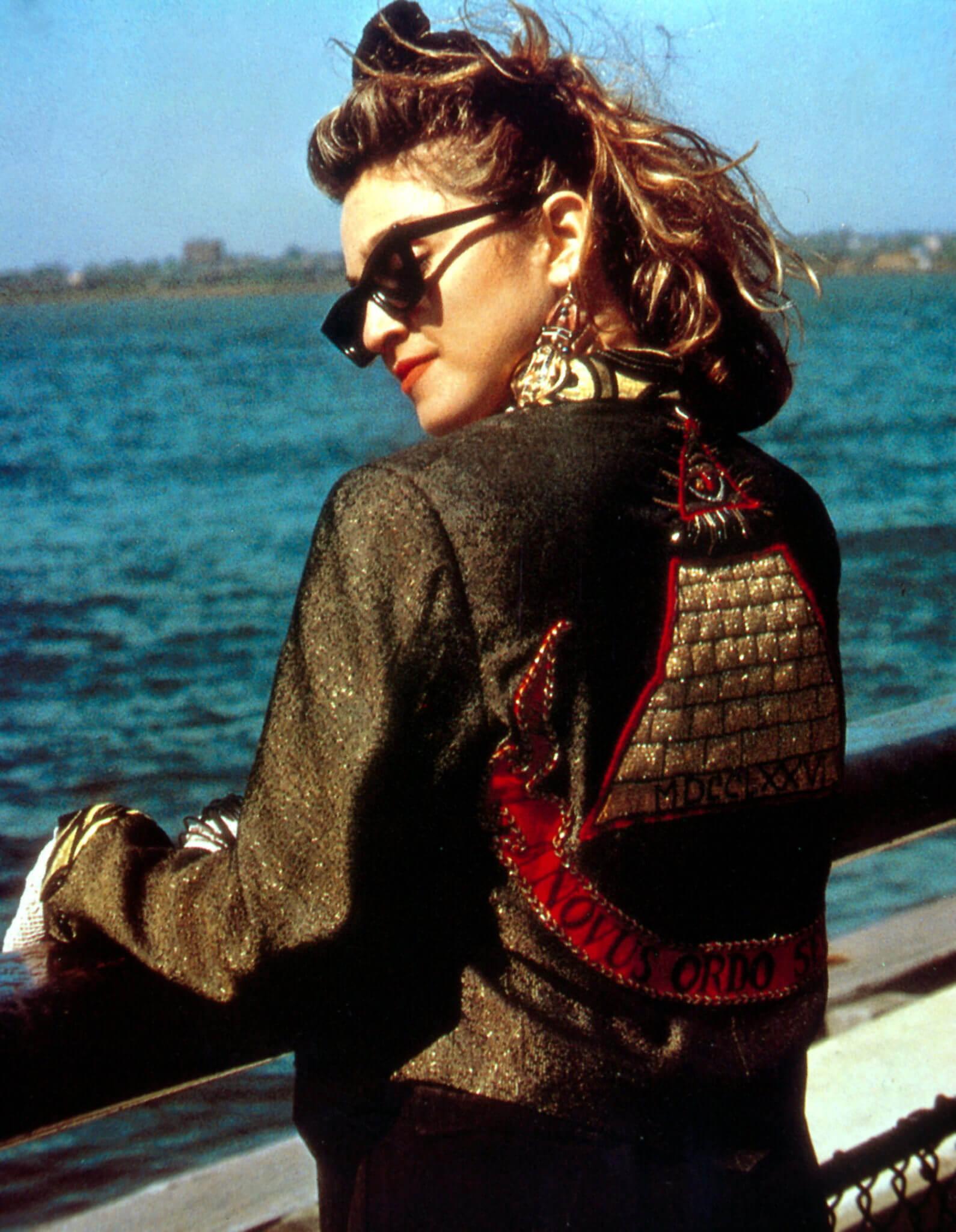 """Madonna en la película """"Desperately Seeking Susan"""". Fotografía: Orion Pictures"""