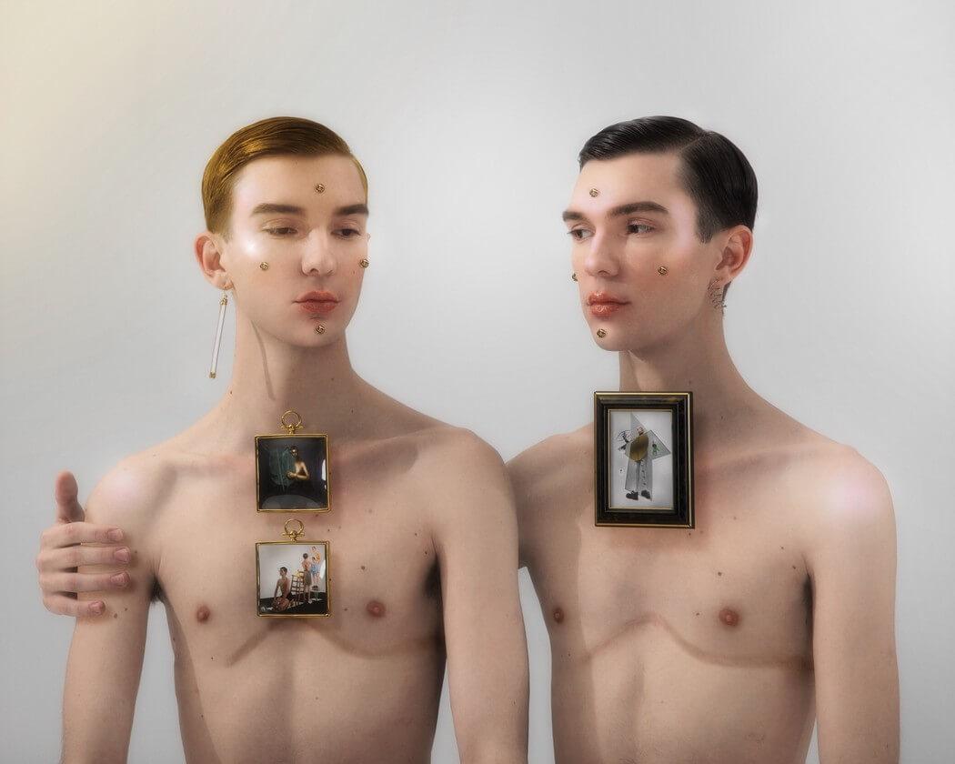 Filip Custic: Surrealismo erótico y mundano en retratos que desafían la percepción
