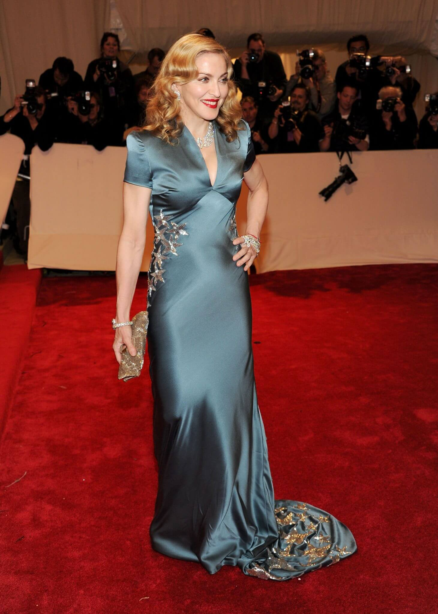 Madonna en la Met Gala del año 2011. Fotografía: Getty Images