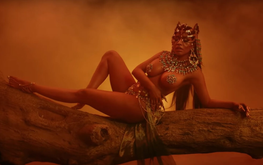 Nicki Minaj en su video