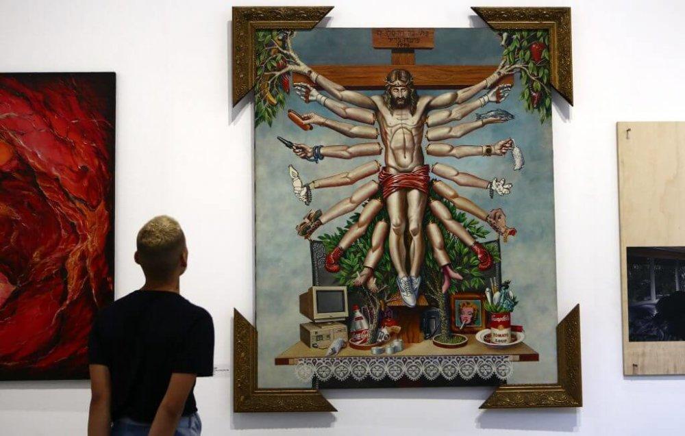 Parte de las obras presentes en la exhibición