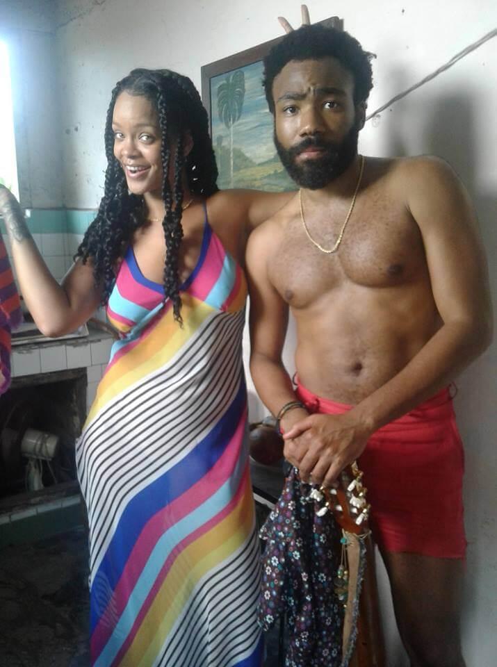 """Así se ve el nuevo adelanto del proyecto """"Guava Island"""" de Childish Gambino con Rihanna"""