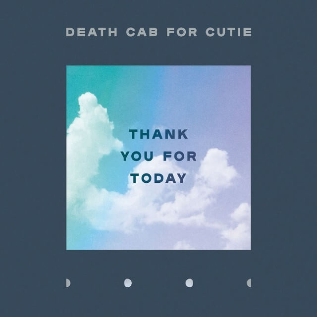 "Portada del disco ""Thank You For Today"" de Death Cab For Cutie."