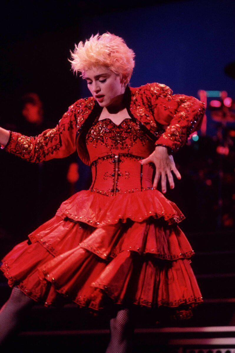 Who's That Girl World Tour, 1987. Fotografía: Archivo/Getty