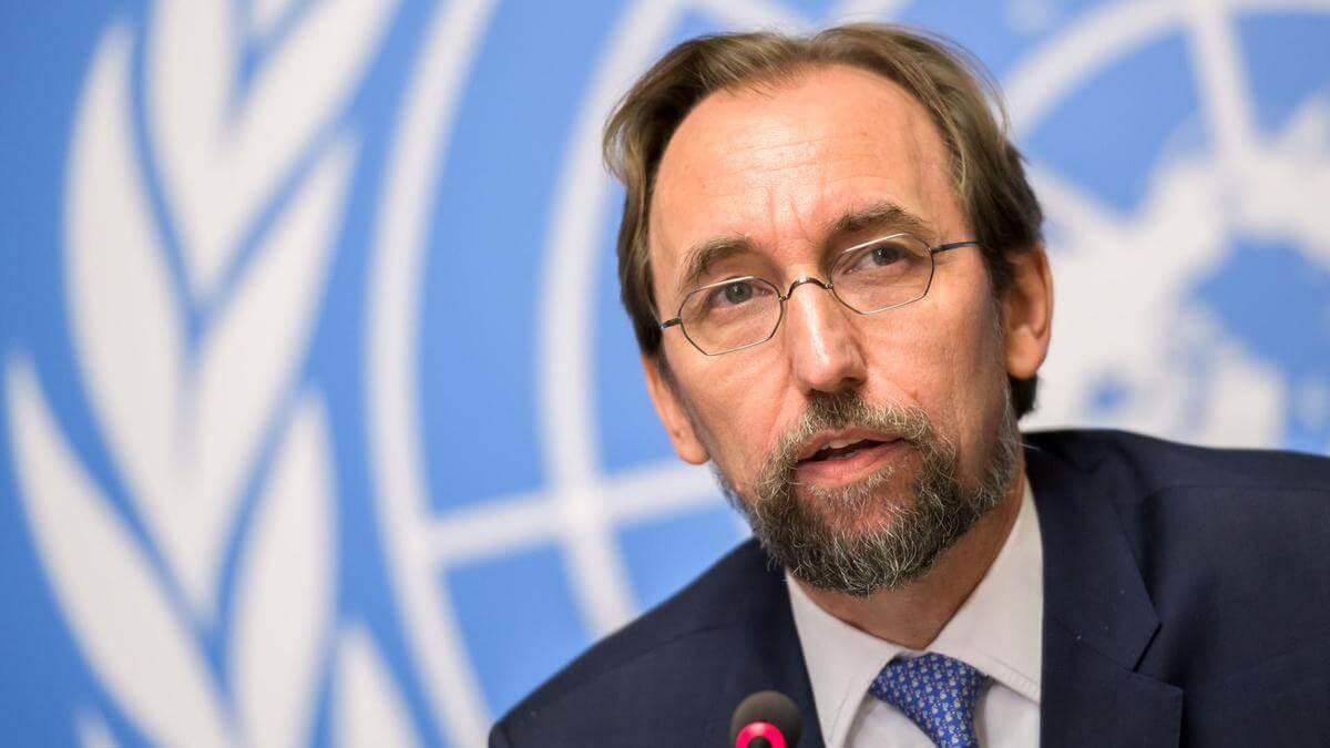 Zeid Ra'ad al-Hussein., el Alto Comisionado saliente. Fotografía: Reuters