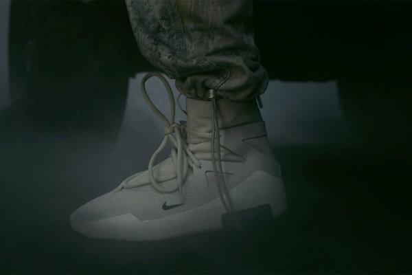 Fear of God x Nike. Imagen: Nike
