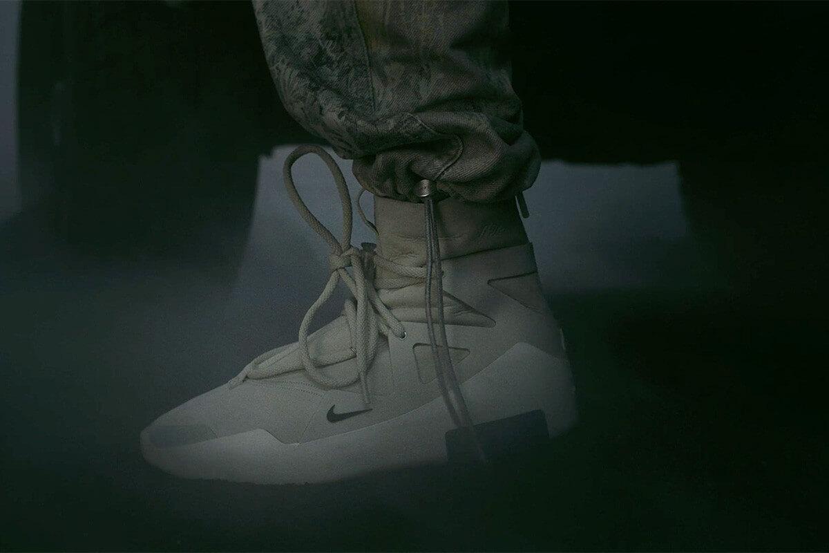 Fear of God se une a Nike y Jared Leto para el lanzamiento de su nueva zapatilla futurista