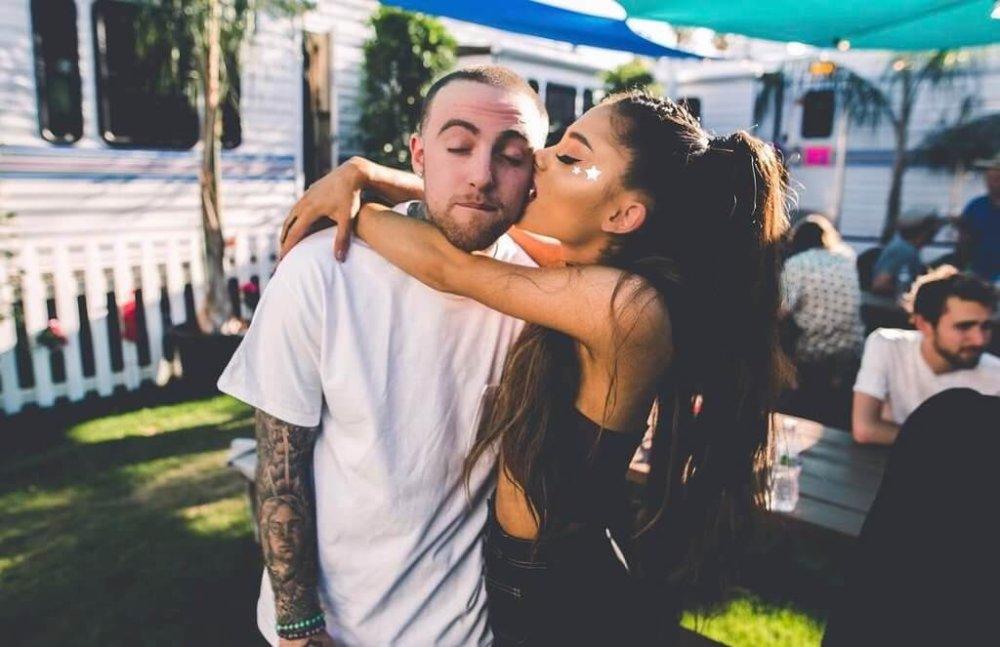 Mac Miller y Ariana Grande. Fotografía: Instagram