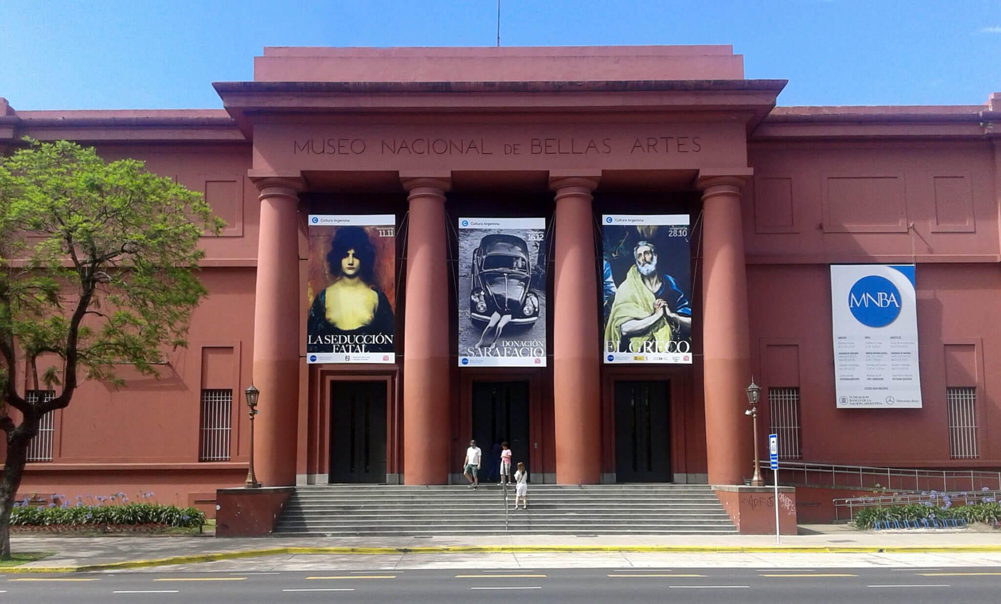 Museo Nacional de Bellas Artes de Buenos Aires. Fotografía: CODART