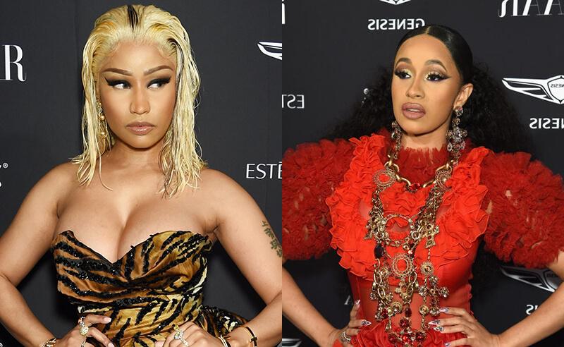 Nicki Minaj y Cardi B. Fotografía: Getty Images/Wire Image