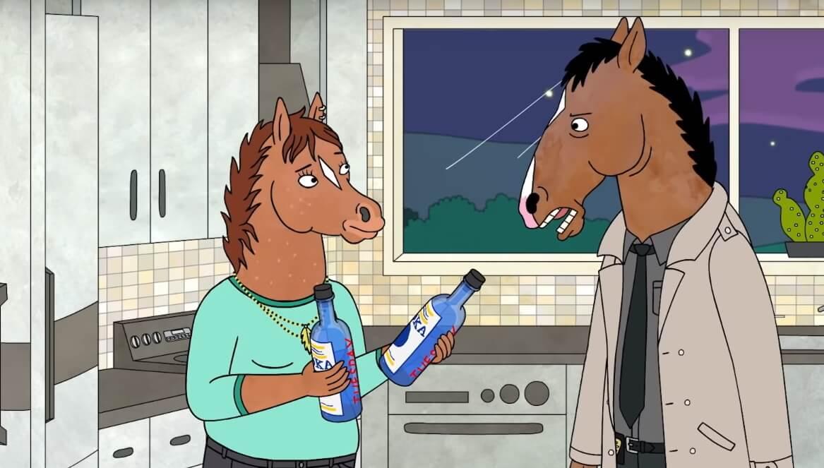 """El nuevo trailer de """"BoJack Horseman"""" es un déjà vu de delirium tremens y soledad"""