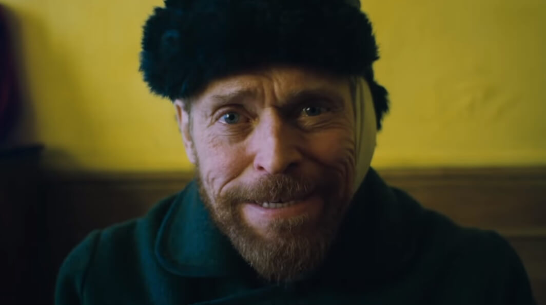 """""""At Eternity's Gate"""": Willem Dafoe es Vincent Van Gogh en el nuevo y poético filme de Julian Schnabel"""