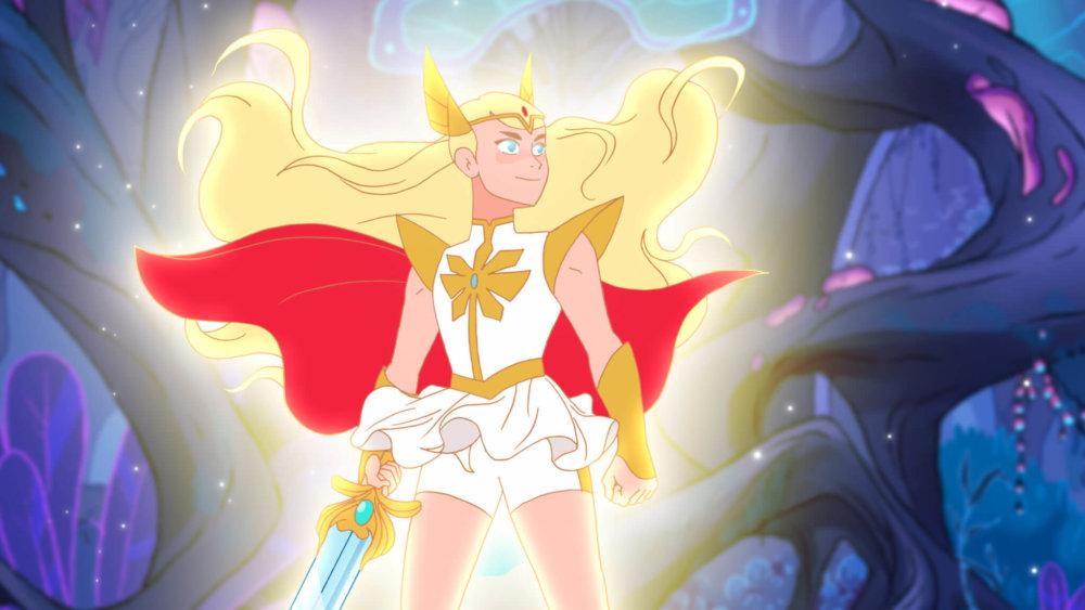 She-Ra. Imagen: Netflix/DreamWorks