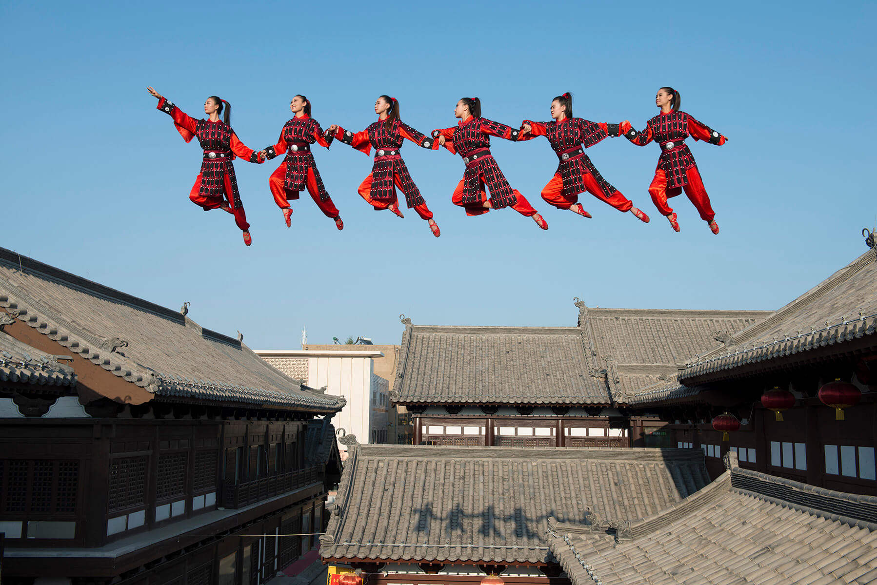 """The Datong Flying"". Fotografía: Li Wei"
