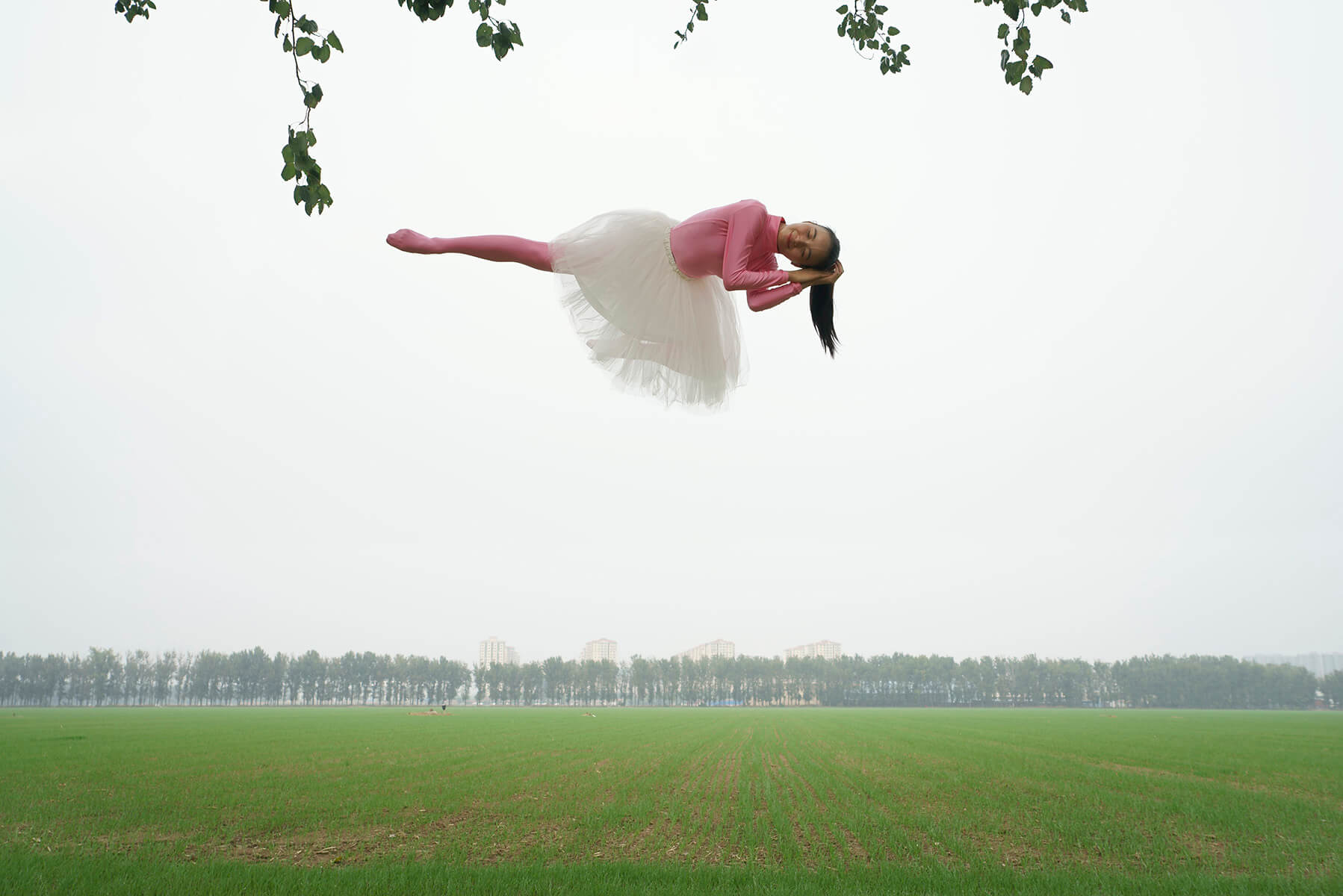 """Nana Flying"". Fotografía: Li Wei"