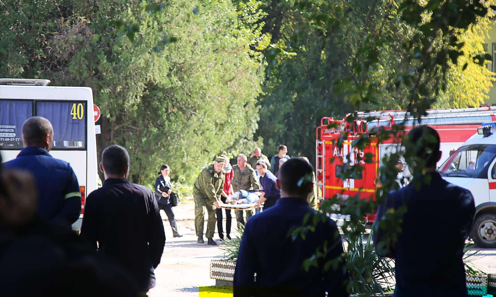 Así fue como un estudiante asesinó a 19 personas en Crimea con una bomba y un fusil