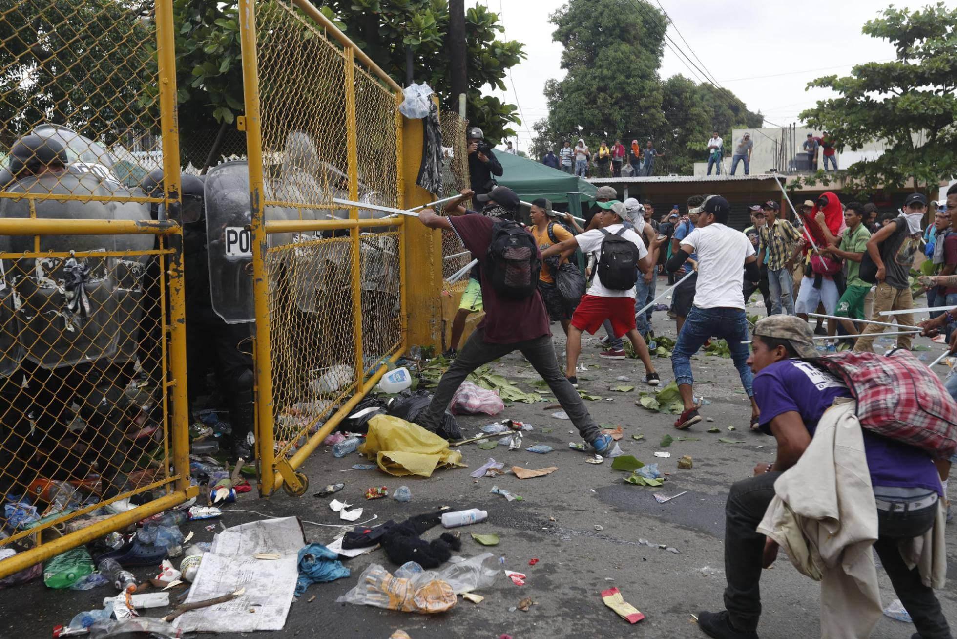 Un inmigrante hondureño muere en enfrentamiento en la frontera de Guatemala y México