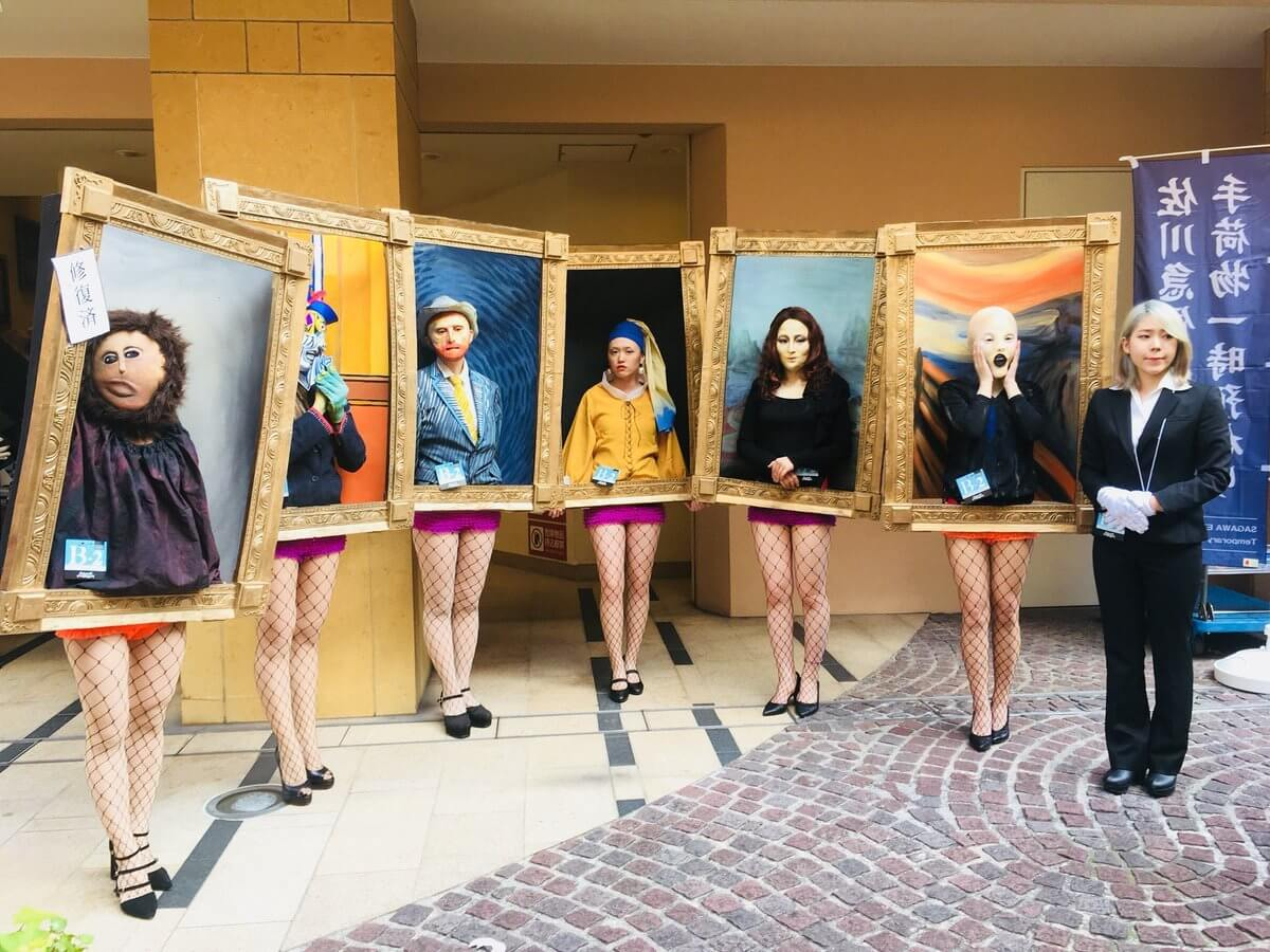 Esto fue lo que pasó en Japón cuando las obras de Picasso, Van Gogh, Da Vinci y Vermeer salieron a la calle