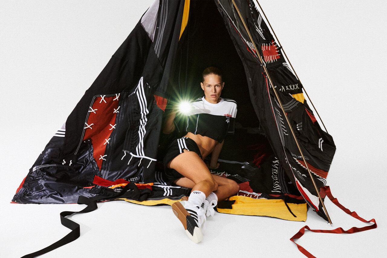 Alexander Wang x Adidas Originals Season 4. Fotografía: Brianna Capozzi/adidas/Alexander Wang