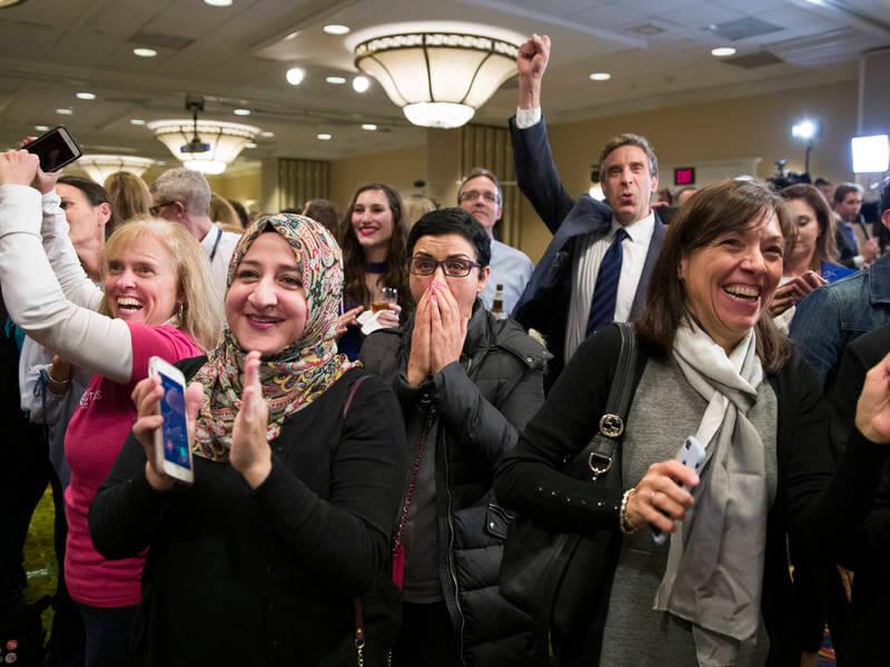Trump se enfrenta el primer revés de su administración con una cámara de representantes demócrata