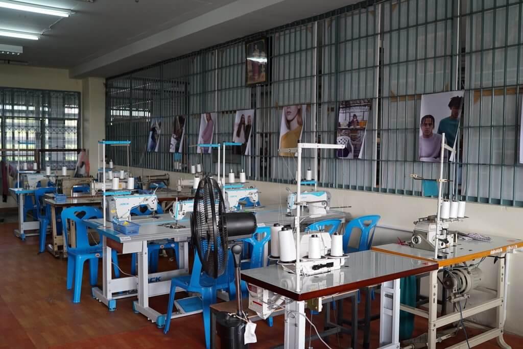 Estudio de Carcel en Tailandia. Fotografía: Carcel