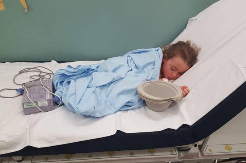 """""""Esto es lo que hace el acoso"""": Así fue como el bullying llevó a esta niña de seis años a ser hospitalizada"""